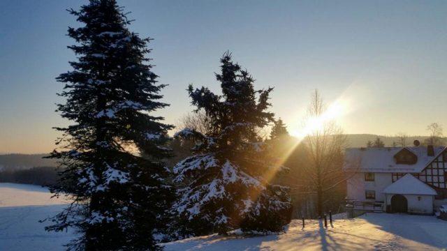 Winteraktivitäten unserer Senioren in Langewiese Februar 2018
