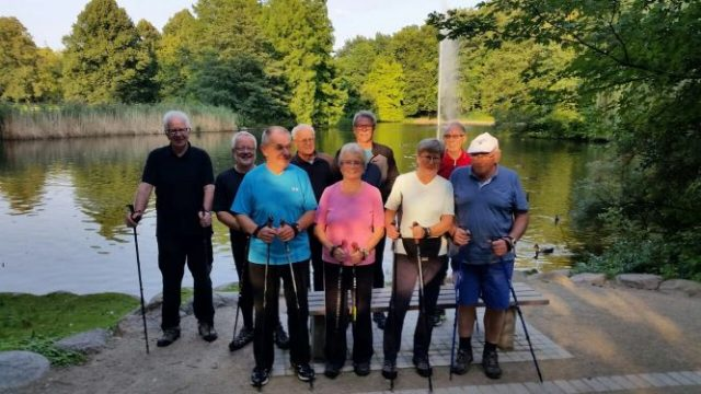 Nordic Walking —-laufend